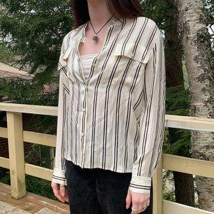 📌 J.Crew Silk Comfy Striped Button Up Blouse